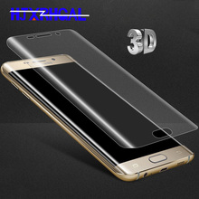 Buy Full cover 3D soft PET film Samsung galaxy S9 S8 Plus screen protector samsung S6 S7 Edge Note 8  (tempered glass ) for $1.01 in AliExpress store