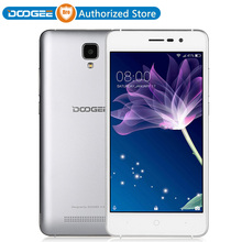 2017 New Arrial Original DOOGEE X10 Dual SIM 3G WCDMA Smartphone 5.0 inch Android 6.0 MT6570 Dual Cores cell phone celulares