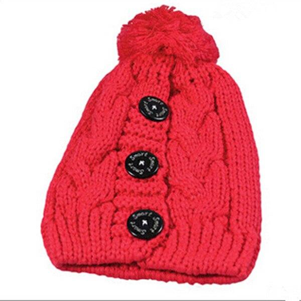 Real shoot Women Winter Warm Braided Crochet Knitting Hat Girls Beret Ski Beanie Ball Cap Q629Îäåæäà è àêñåññóàðû<br><br><br>Aliexpress