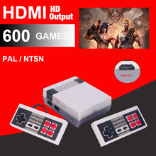 5 to 200pcs per lot HDMI Out Retro Classic game console Built-in 600 Games For P/N HD OUT With BOX free shipping by DHL(China)