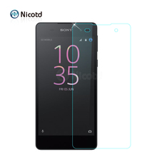 E5 E 5 Screen Protector 9H Anti-Explosion Tempered Glass For Sony Xperia E5 F3311 F3313 LTE Protective Film pelicula de vidro