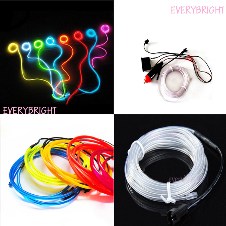 New Design!! 2Sets Car Decoration Lamp Led Car Atmosphere Light Auto Interior Strip Light Cold Lamp 3 Meters Hot Sale<br><br>Aliexpress