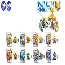 Toy Dream SY636 NEW Nexo Knights Future Shield Building Blocks Castle Warrior Nexus Kids Toys Gift Compatible Lepin - Wonder Minifigures Store store