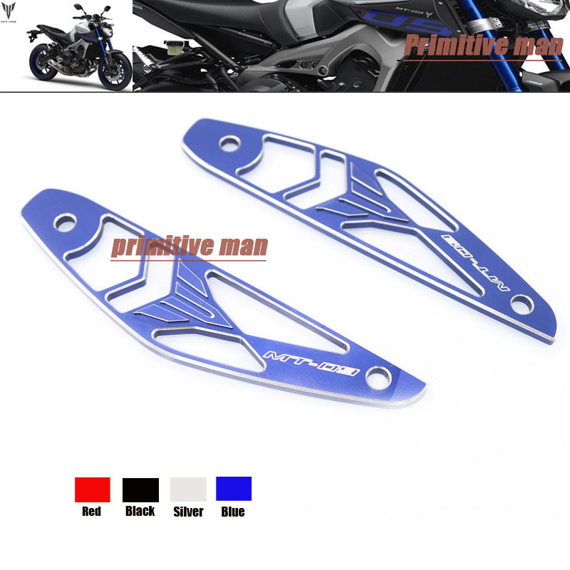 For YAMAHA FZ-09 FZ 09 FZ09 MT09 MT 09 MT-09 2014-2015 Motorcycle Accessories 3D Logo Air Inlet Cover Blue<br><br>Aliexpress