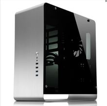 ATX Computer case UMX4 Aluminum alloy black Tempered glass Side Transparent version large-panel Jonsbo Chassis(China)