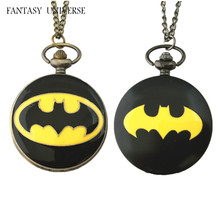 FANTASY UNIVERSE Freeshipping a lot 20PCS pocket watch NECKLACE Dia4.7CM RTTEWM02