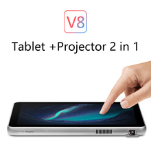 VOYO V8 Tablet Projector 2 in 1 RK3188 Quad-Core 1GB Ram 16GB Rom 8 inch 1280*800 Screen Android 4.4 120 inch projection WiFi(China)