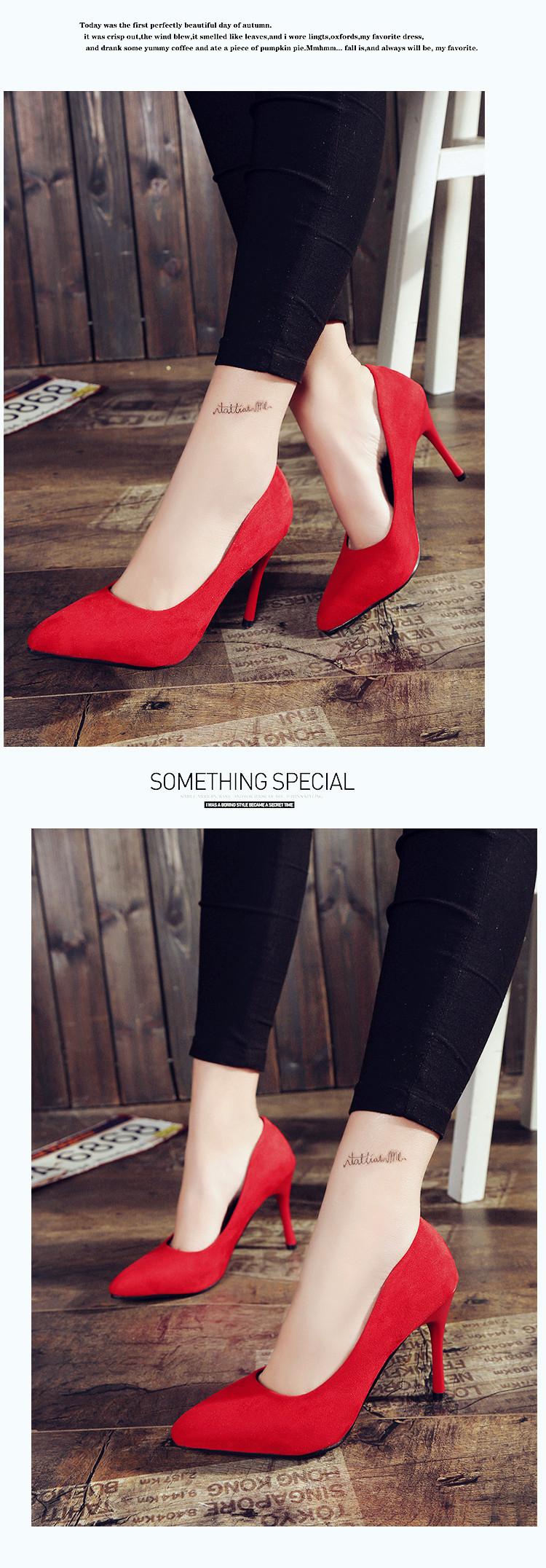 2018 HOT Summer Femmes Chaussures Bout Pointu 15