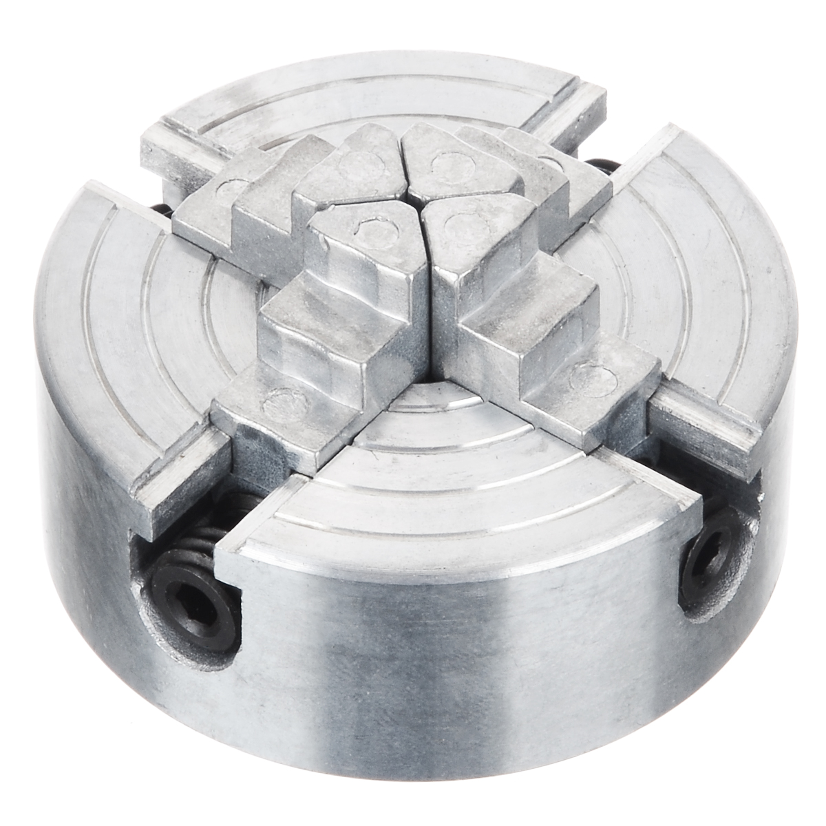 1Pcs Z011A Mini Collet Metal 4-Jaw Lathe Chuck Clamps 1.8~56mm/12~65mm M12 Thread Wood Turning Lathe Accessories