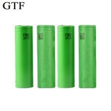 GTF 3.7V 18650 battery 3000MAH Li ion rechargeable Batteries 18650 vtc6 30A Electronic cigarette Vape tools flashlight