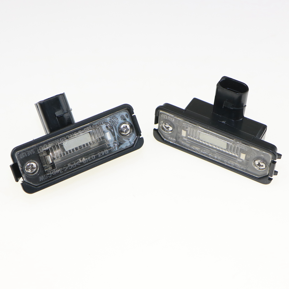 2 Pcs OEM License plate Lighting For VW Polo Golf MK4 Beetle Passat Phaeton Lupo 1J6 943 021 B 1J6943021B 1GD 943 021 1GD943021A<br><br>Aliexpress