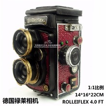 Antique classical camera model retro vintage wrought handmade metal crafts for home/pub/cafe decoration or birthday gift(China)