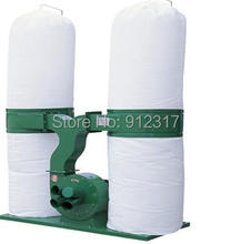 Three pahse AC380V 3KW Woodworking Duoble Bags Wood Dust Collector(China)