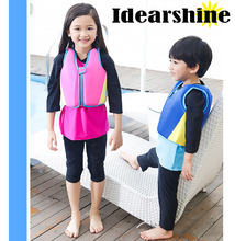 Kids Life Jacket Floating Vest Swimming Pool Toy Boy Girl Swimsuit Floating Power Swimming Up to 25 kg Buoyancy #7132