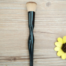 Fashion Proessional 1pcs Body Curve Brushes Foundation Powder Blusher Eyeshadow Face Makeup Brush Cosmetic Pincel Tools