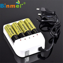 1PC 4 Output Universal i4 Intelligent Li-ion/NiMH 18650/26650/AA/AAA Battery Charger
