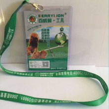 Retractable Lanyard Neck for Business ID Badge Holders set Print free with your name/email/logo for election/exhibit events(China)