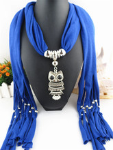 10 color blue brown cheap hot sale polyester muslim shawl 2017 new arrival fashion multi scarf with animals owl scarfs