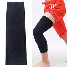 1pcs Honeycomb Knee Pads Bumper Crashproof Football Basketball Leg Sleeve Sports Kneepad Protector Knee let Well Sell