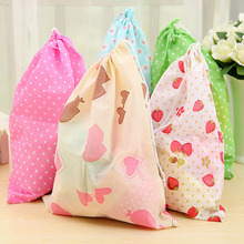 Durable Nonwovens Storage Bags For Travel Socks Shoes Laundry Lingerie Makeup Pouch Cosmetic Organizer dust bag Beam pockets 3