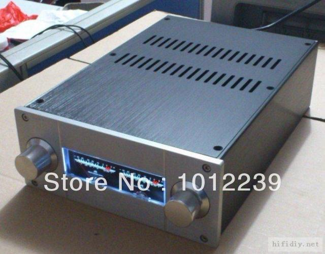 Aluminum amplifier chassis JC229 (level meter version) pre-chassis<br><br>Aliexpress