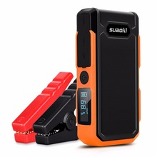 Suaoki U10 Car jump starter 20000mah Power bank External Battery Pack rechargeable Battery light 12V for 6L gas 5L diesel engine