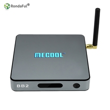 MECOOL BB2 Android 6.0 TV Box Amlogic S912 Octa Core 2G/16G 4K H.265 Decode Dual Band WiFi Bluetooth Media Player
