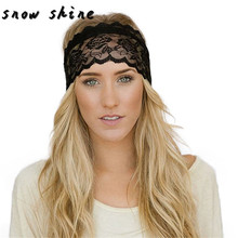 snowshine #1501 Fashion Women 2017 2017 Elastic Hair Band Vintage Lace Decoration Headband free shipping