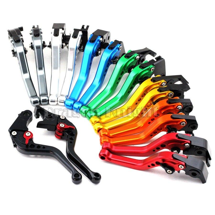 For SUZUKI GSR 750 600 400 Motorcycle Accessories CNC Billet Aluminum Short Brake Clutch Levers<br><br>Aliexpress