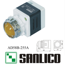 semi-conductive energy saving indicator(LED) AD58B(AD16 AD22 AD11 AD17)-255A(China)