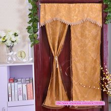 Classical Korean High Grade Embroidered Jacquard Knitting Curtain Romantic Room Taiwan Feng Shui Decoration