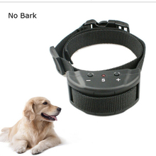 Dog Safe Electronic Ultrasonic Collar Stop Barking Device Pet Stop Control Barking Dog Training Collars Pet Supplies
