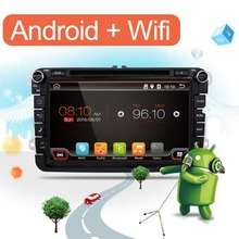 "8"" Capacitive Screen Quad Core Android 6.0 Car DVD GPS Can Bus for VW Volkswagen POLO EOS PASSAT B6 Golf 5 6 Skoda Octavia"