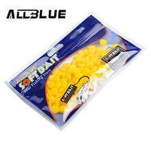 ALLBLUE Essential New 80pcs/lot Fake Soft Lures Floating Corn Good Quality Fishing Lure Bait Carp Fishing(China)