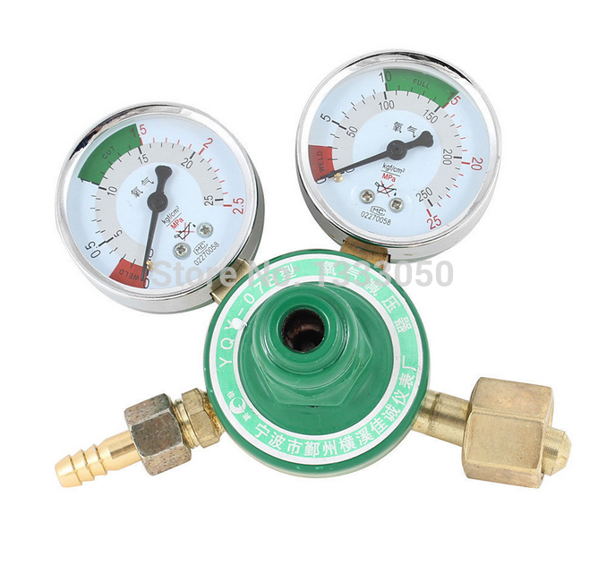 Free Shipping 16mm Outlet Thread Reduced Pressure Flow-meter Decrement Gauge Nitrogen<br>