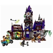ZXZ Mystery Mansion Scooby Doo Series Ghost House 860 Pcs Bricks Set Sale 75904 Building Blocks Baby Toys Compatible With Lepin