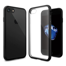 Ultra Hybrid Case for iPhone 7 Clear Back Panel Military Grade Drop Resistance Phone Cases & Covers for iPhone 7