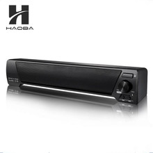 LP-09 Slim Magnetic Wireless Soundbar HIFI Box Bluetooth Subwoofer Speakers Boombox Stereo Portable Hands-free Speaker for TV PC