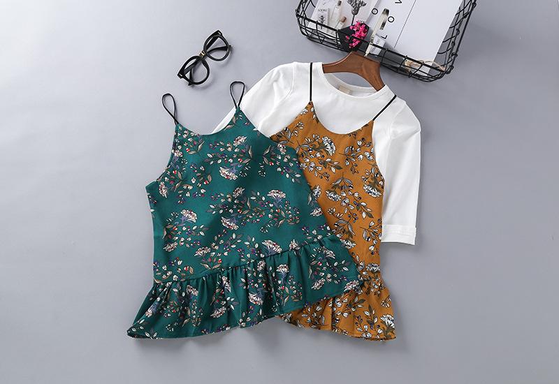Erineva disainiga moekad kleidid tüdrukutele