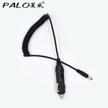 DC12V 5.5 x 2.1 mm Car Cigarette Lighter Power Adapter Cord Cable Plug Charger With Switch Wholesale