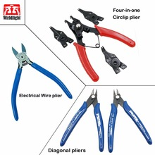 "Japan Style 5"" Electronic Diagonal Mini Pliers 125mm cable cutter for Soft Copper Wire Cutter multi Tool Made in Taiwan(China)"