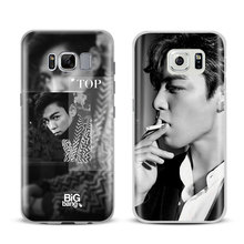 BigBang T.O.P Fashion Couqe For Samsung Galaxy S4 S5 S6 S7 Edge S8 Plus Note 8 3 4 5 A5 A710 J5 J7 2017 Mobile Phone Case Cover(China)