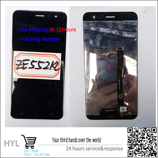 High quality Original LCD display +Touch Screen digitizer For Asus ZenFone 3 Ze552KL In stock!<br><br>Aliexpress