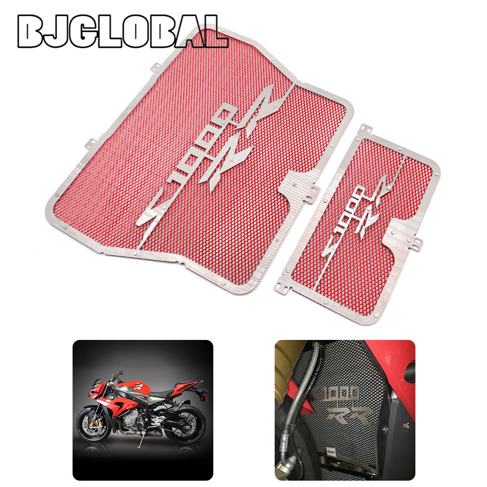 Stainless Steel Engine Radiator Grill Guard Cover For BMW S1000R 2014-2015 S1000RR 2010-2016 HP4 2012-2014 S1000XR 2015-2016<br><br>Aliexpress
