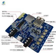 1pcs 5V Bluetooth MICRO audio decoder board Bluetooth receiver MP3 / WMA / WAV audio decoder board USB TF Player / AUX /EQ(China)