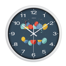 3D Wall Clocks Mirror Modern Design Electronic Watch Saat Silent Metal Kitchen Large Decorative Wall Clock Home Decor QQN481