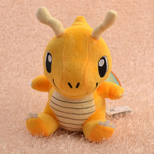 Pikachu Plush Toy Dragonite 16cm Cute Collectible Soft Stuffed Animal Doll Pikachu Plush Toys For Kids Gift Peluche(China)