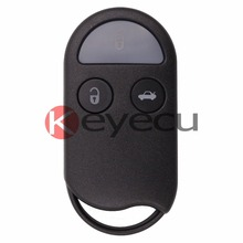 Keyecu New Replacement Remote key Shell Case Fob 3 Button for Nissan Maxima A32(China)