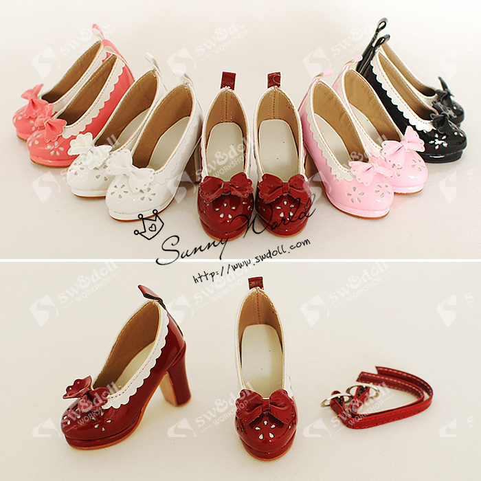 1/3 Scale BJD High-heeled shoes for dolls.shoes for BJD/SD.A15A1248.only sell doll shoes.not included the doll and clothes<br>