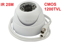 "IR LED day and night indoor In- Ceiling 1/3""color Sony CMOS 1200TVL mini dome cctv video camera with WDR, OSD ELP-512H2(China)"